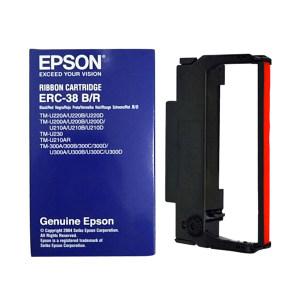 EPSON/爱普生 色带 ERC-38B/R 黑色 1盒