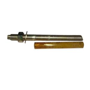 ZKH/震坤行 化学锚栓(带化学试剂)碳钢 彩锌 M20×350 1只