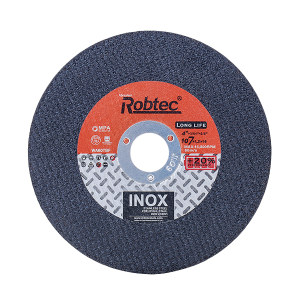 ROBTEC T41黑色双网不锈钢切割片 125×1.2×22 高端版 1片