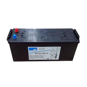 SONNENSCHEIN/埃克塞德阳光 蓄电池 A412/100AH 12V 513×189×223mm 德国原装进口 1个