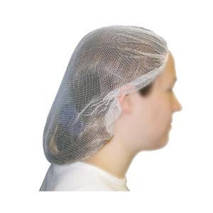 AMMEX/爱马斯 无纺布条形帽 40048W-19 白色 均码 10克重 1袋