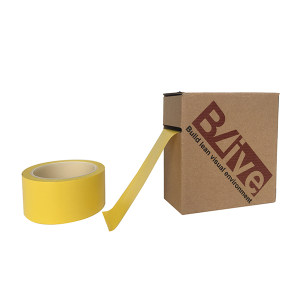 BLIVE 高性能警示划线胶带 BL-GL-100-YL 黄色 100mm*22m 1卷
