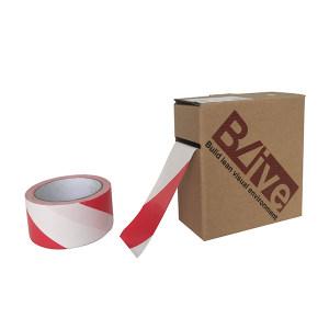 BLIVE 高性能警示划线胶带 BL-GL-50-RW 红白 50mm*22m 1卷