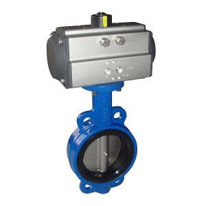 WD/万德 气动控制阀 DN100  -50℃-200℃  PN0.6-2.5Map  ALPHA C系列 双作用气动执行器 WD-QT100 1台