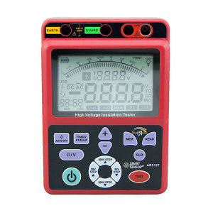 SMART SENSOR/希玛仪表 便携式5000V兆欧表 AR3127 输出电压:250V ~ 5KV 不支持第三方检测/计量 1个