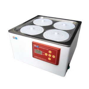 BOXUN/博迅 电热恒温水浴锅 HH.S21-4 RT+5~100℃ 双列四孔/305×305×130mm 1台