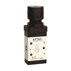 AIRTAC/亚德客 平头按钮型手动阀 M3PF11006G 1个