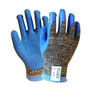 HTR/海太尔 迷彩钢丝乳胶防割手套 0081 均码(9) 1副