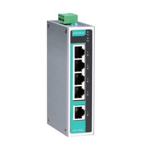MOXA/摩莎 5口非网管型工业以太网交换机 EDS-205A 1个