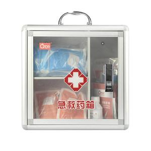 CROR/科洛 壁挂式生物医学实验室急救箱 BC-L-004B 标准配置 32件 1个