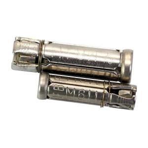 ZKH/震坤行 四片式膨胀管 304 本色 M6 1盒