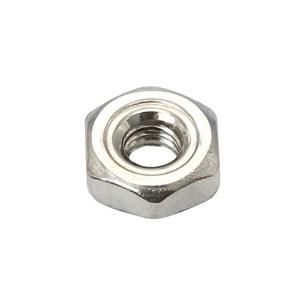 ZKH/震坤行 六角焊接螺母 304 本色 M6 DIN929 1盒