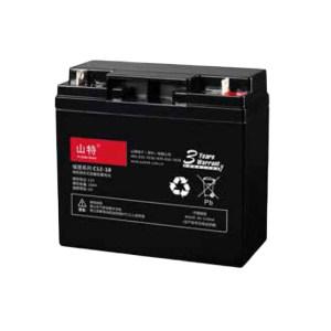 SANTAK/山特 阀控式铅酸蓄电池 C12-18 181.5×77×167.5mm 5.4kg 1节
