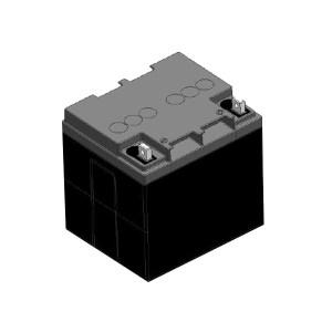 PANASONIC/松下 阀控式铅酸蓄电池 LC-Y1224ST 12V 24Ah 165×125×175mm 8.05kg 1节