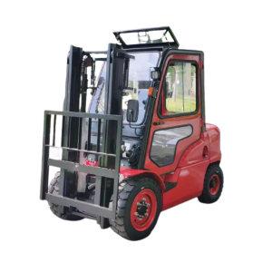 HC/杭叉 柴油叉车 CPCD30-XRG72F 额定载重量3t 最大起升高度3m 全车实心轮 加装封闭式驾驶室 3m全自由门架 1台