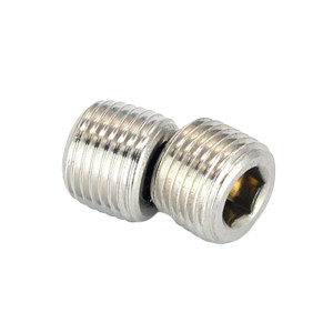 ZKH/震坤行 内六角喉塞 304 本色 1-1/2-11.5×22 DIN906 允许误差3% 1包