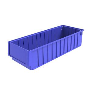 ANWENYING/安稳盈 分隔式零件盒 TK6214_蓝色 600×235×140mm 含透明牌 不含分隔板 1个