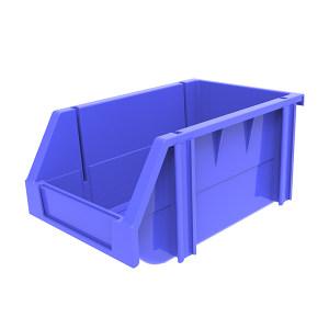 ANWENYING/安稳盈 组立背挂式零件盒 TK002_蓝色 240×150×124mm(222×128×59mm) 蓝色 1个