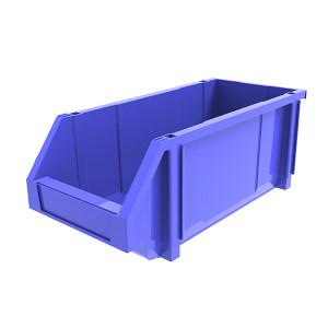 ANWENYING/安稳盈 组立背挂式零件盒 TK004_蓝色 450×200×177mm(414×172×94mm) 蓝色 1个
