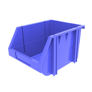 ANWENYING/安稳盈 组立背挂式零件盒(可纵向分隔) TK007_蓝色 280×214×175mm(259×189×87mm) 蓝色(不含分隔板) 1个