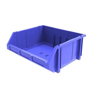 ANWENYING/安稳盈 组立背挂式零件盒(可纵向分隔) TK010_蓝色 370×420×175mm(334×392×94mm) 蓝色(不含分隔板) 1个