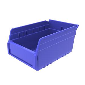 ANWENYING/安稳盈 精益物料盒 TK3215_蓝色 300×200×150mm(280×178×88mm) 蓝色 含透明牌 不含分隔板 1个