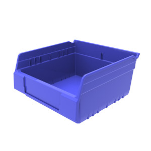 ANWENYING/安稳盈 精益物料盒 TK3315_蓝色 300×300×150mm(280×277×88mm) 蓝色 含透明牌 不含分隔板 1个