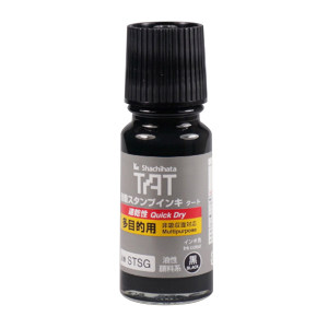 TAT/旗牌 多用途速干工业印油 STSG-1 黑色 55mL 1瓶