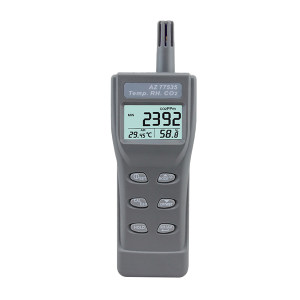 AZ/衡欣 二氧化碳检测仪 AZ77535 1个