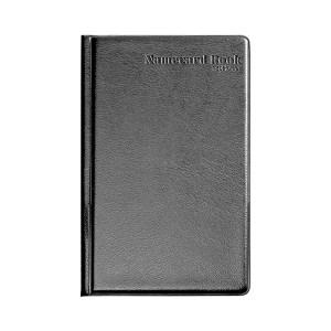 COMIX/齐心 硬皮名片册 A1556 180名 黑色 1本