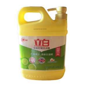 LIBY/立白 清新柠檬洗洁精 6920174743548 1kg+120g 1桶