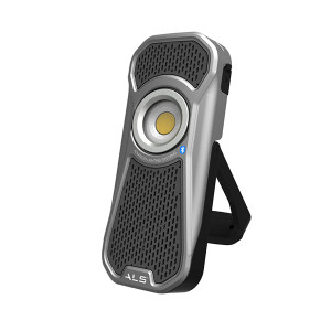 ALS LED音响灯 AUD601R (太空银) 600 流明手持式LED 1套