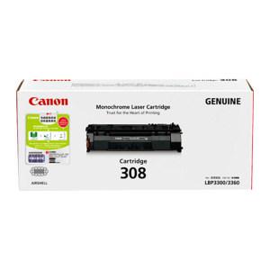 CANON/佳能 硒鼓 CRG-308 黑色 1个