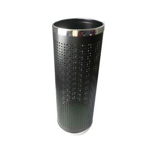 QIZHENG/奇正 雨伞桶 ST-391 Φ22×60cm 黑色 1个