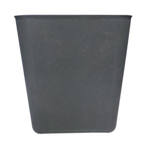 ZIREN/滋仁 方形垃圾桶 LT-034 280×210×312mm 14L 灰色 1个