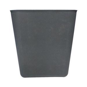 ZIREN/滋仁 阻燃性方形垃圾桶 8L 24×17.5×26.5cm 8L 灰色 1个