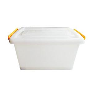 ZIREN/滋仁 塑料整理箱 108型 1号 64×45×38cm 透明白 80L 1个