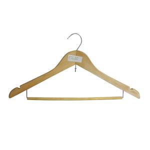 ZIREN/滋仁 衬衫衣架 原木色 44.5×22cm 原木色衬衫衣架 1个