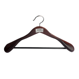 ZIREN/滋仁 西服衣架 红木色 44.5×25cm 红木色西服衣架 1个