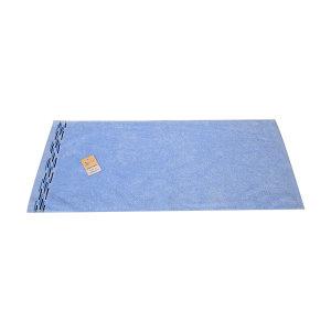 JIEYU/洁玉 清盈抗菌毛巾 JY-1423F 34×74cm 蓝色 100%纯棉(缎档及装饰部分除外) 110g 1条