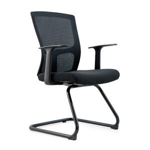 JIDA/集大 办公椅 CH-183C 620×550×930mm 全黑色 1把