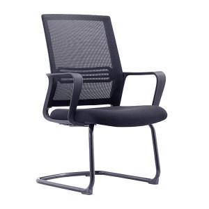 JIDA/集大 办公椅 CH-191C 580×560×930mm 全黑色 1把