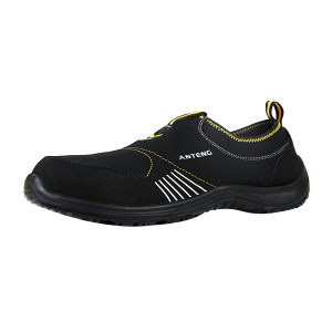 ANTENG/安腾 帆布款透气安全鞋 AS05-1-S1 36码 黑色 防砸防静电 1双