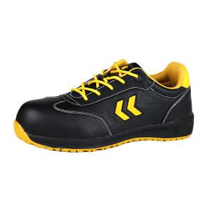 ANTENG/安腾 壁虎05款超纤皮安全鞋 05-SBP+I 45码 黑色 防砸防刺穿绝缘 1双