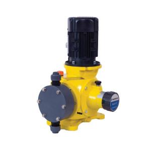 MILTONROY/米顿罗 GM系列普通电机PVC机械隔膜泵 GM0090PQ1MNN 最大流量85L/h 进出口口径DN15 最大工作压力7bar PVC泵头 250W 手动 380V 1台