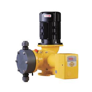 MILTONROY/米顿罗 GM系列普通电机PVC机械隔膜泵 GM0240PQ1NNN 最大流量235L/h 进出口口径DN15 最大工作压力7bar PVC泵头 250W 手动+电动冲程 380V 1台