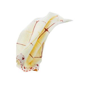 KING SHORE/金号 1131系列纯棉小方格毛巾 1131 34×76cm 黄色 100%纯棉(缎档及装饰部分除外) 85g 1条
