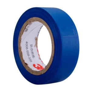 3M PVC电气绝缘胶带-普通型 1500 蓝色 18mm×10m×0.13mm 1卷