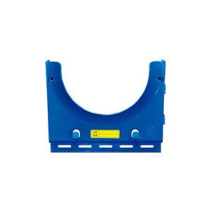 SAFEWARE/安赛瑞 经济型安全帽放置架 12046 蓝色 ABS工程塑料 单帽 23*28cm 1个