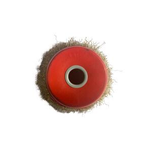 YONGKANG/永康 孔碗钢丝刷(镀铜) 125*16mm 1个